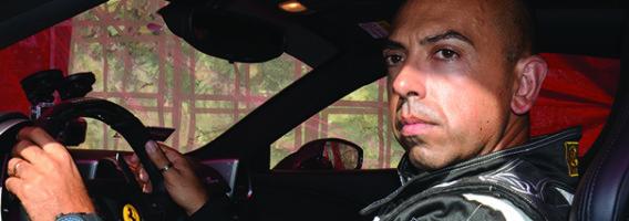 Fabio Barone al volante
